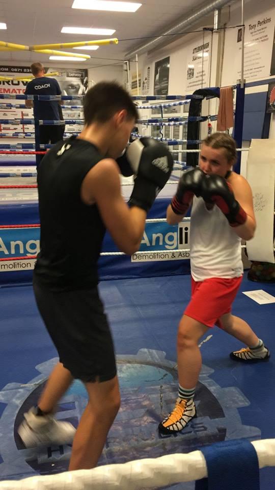 Development Senior Squad Attleborough Boxing Club